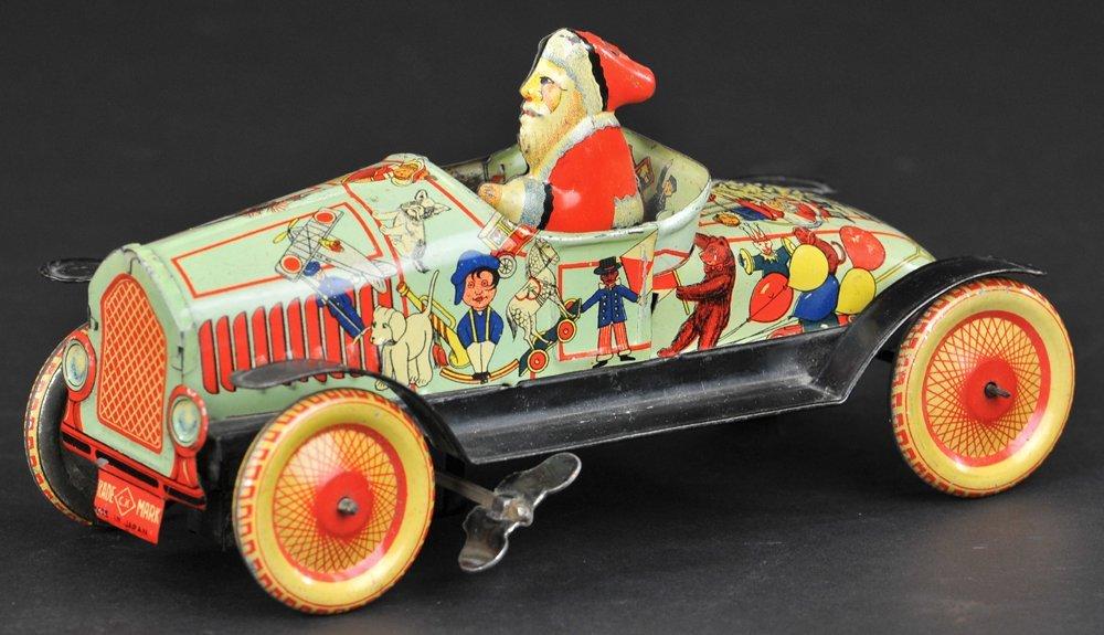 RARE PRE-WAR JAPANESE SANTA CAR