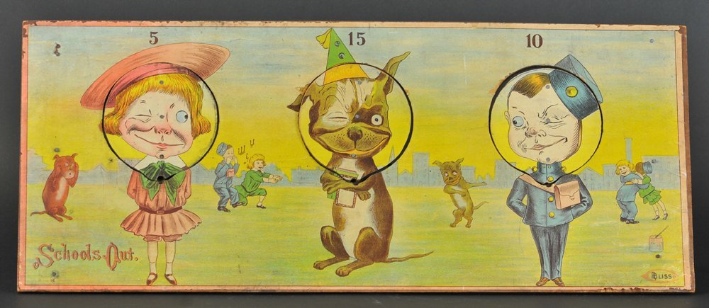 BUSTER BROWN 'SCHOOL'S OUT' TARGET TOSS
