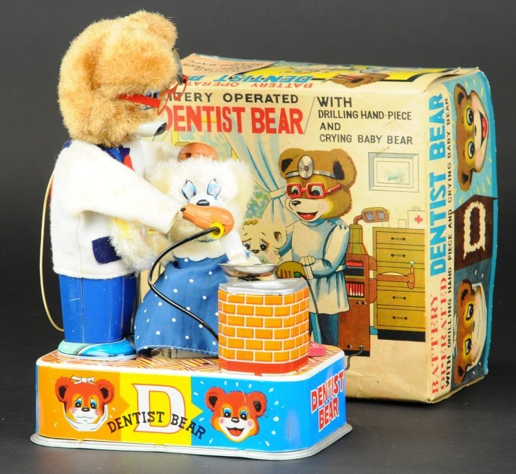 BOXED DENTIST BEAR TOY