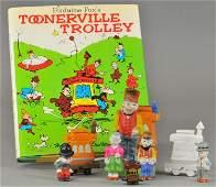 TOONERVILLE TROLLEY ITEMS