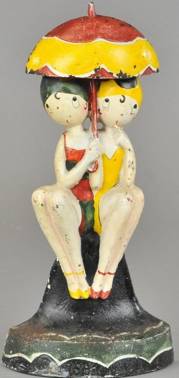 BATHING BEAUTIES DOORSTOP