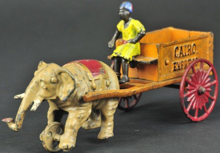 """KENTON """"CAIRO EXPRESS"""" ELEPHANT DRAWN WAGON"""