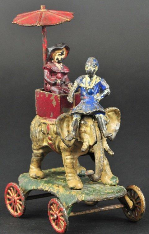 KENTON ELEPHANT WITH GIRL IN HOWDAH