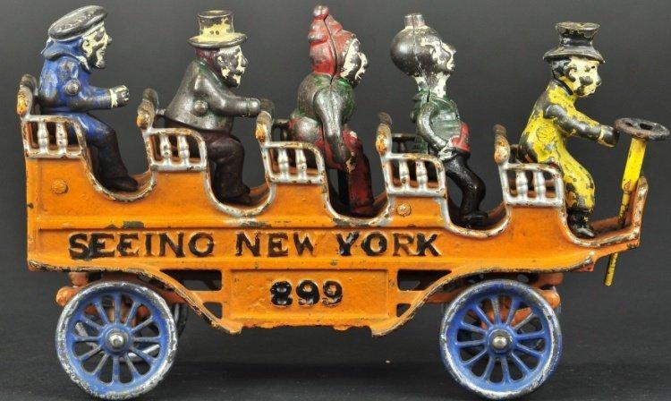 KENTON SEEING NEW YORK BUS
