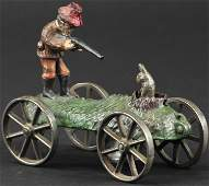 N N HILL BRASS CO  THE HUNTER BELL TOY