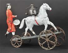 ALTHOF BERGMANN SUFFRAGETTE DRUMMER WITH HORSE BEL