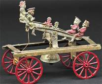 WATROUS DOUBLE SEE-SAW BELL TOY