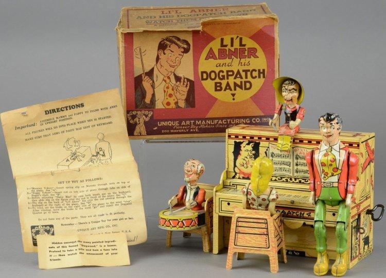 LI'L ABNER BAND WITH BOX