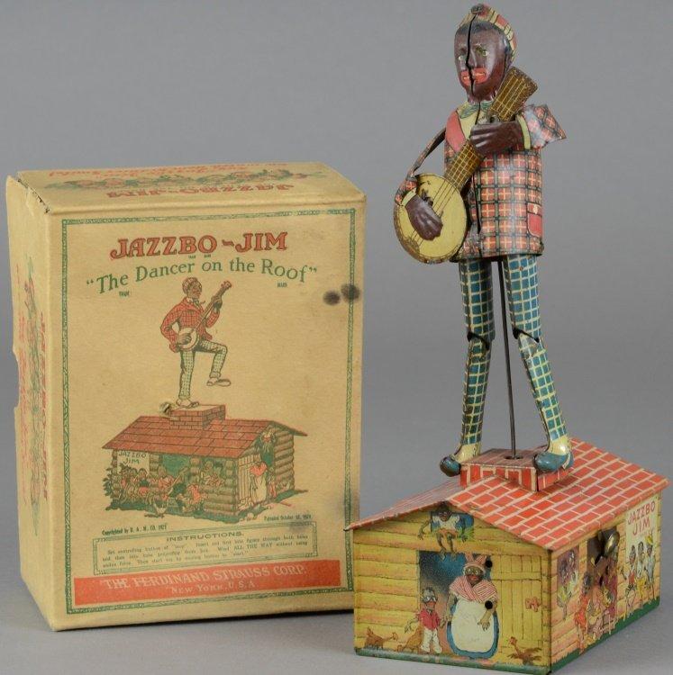 JAZZBO JIM WITH ORIGINAL BOX