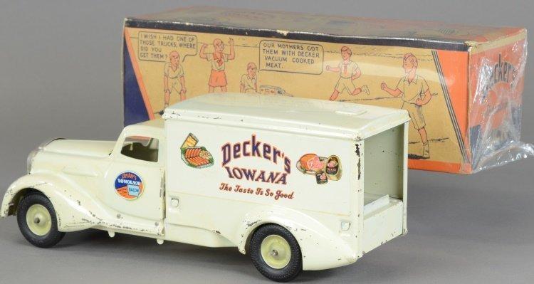 "METALCRAFT ""IOWANA DECKER"" TRUCK WITH BOX - 2"