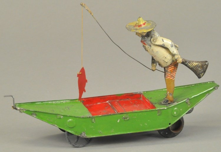 FERNAND MARTIN FISHERMAN IN BOAT
