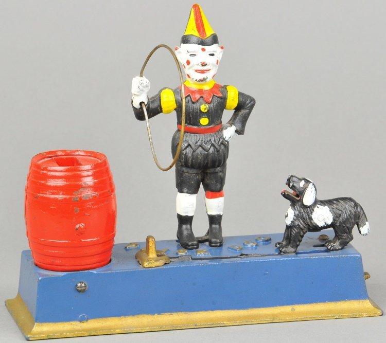 TRICK DOG SOLID BASE MECHANICAL BANK