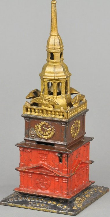 INDEPENDENCE HALL TOWER BANK (POLYCHROME VERSION)