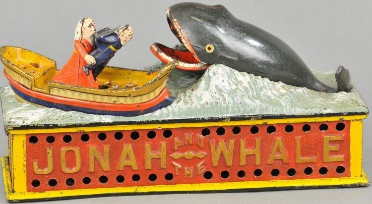JONAH & THE WHALE MECHANICAL BANK