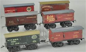 GROUPING OF BING FREIGHT CARS