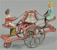 GONG BELL MALE AND FEMALE SEE-SAW BELL TOY