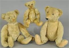 LOT OF THREE TEDDY BEARS