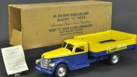 Boxed Buddy 'l' Sand Loader And Dump Truck
