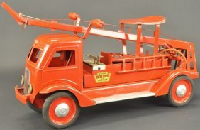 Ride 'embossed Water Tower Fire Truck