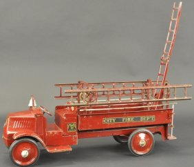 Steelcraft Hood And Ladder Truck