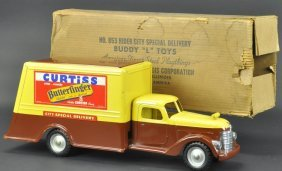 Boxed Buddy 'l' Curtiss Delivery Truck