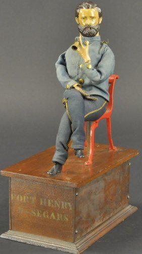 Ives General Grant Smoker Toy