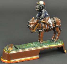 I Spise A Mule, Jockey Mechanical Bank