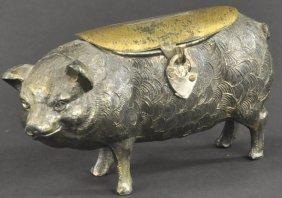 Lead Pig Still Bank