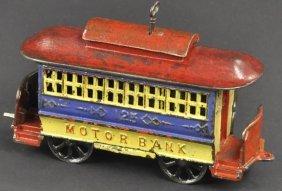 Motor Mechanical Bank