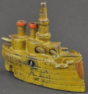 "Battleship ""oregon"" (large) Still Bank"