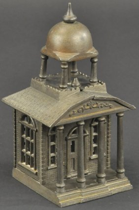 Building With Belfry Still Bank