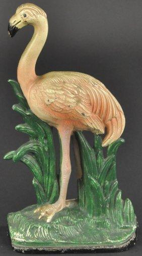 Flamingo Doorstop