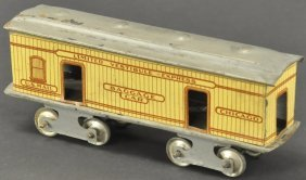 Rare Ives Chicago Baggage Floor Train