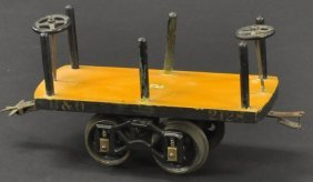 #2128 Voltamp Flat Car