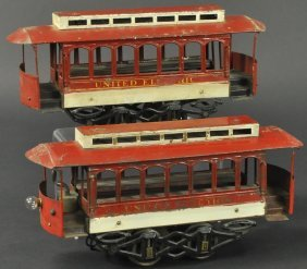 Voltamp United Electric Trolley And Trailer