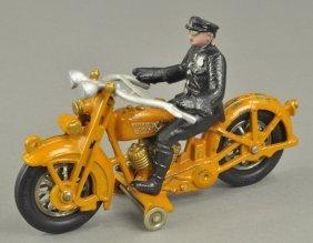 Large Hubley Harley Davidson Motorcycle