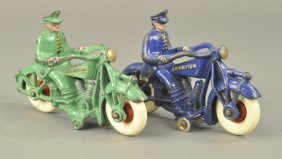 Lot Of Two Champion Toy Motorcycles