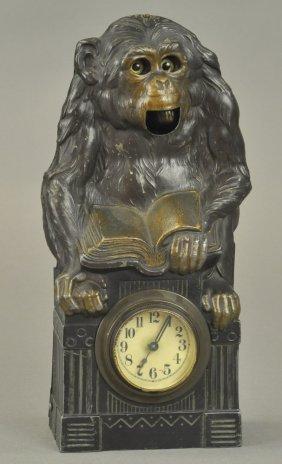 Monkey Blinking Eye Clock