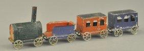 Small Tin Floor Train