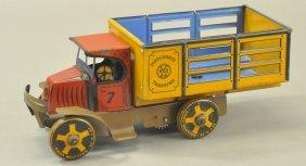 Marx Merchants Transfer Mack Truck