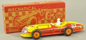 Marx Boxed Mechanical Speed Racer