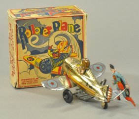 Superman Rollover Plane W/box