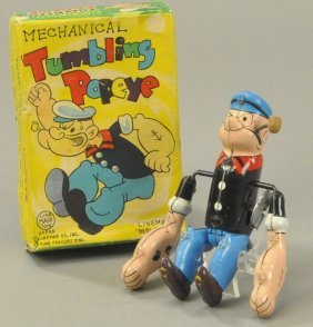 Tumbling Popeye W/box