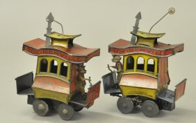 Lot Of Two Toonerville Trolleys