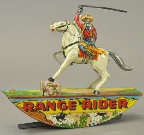 Marx Lone Ranger On Silver