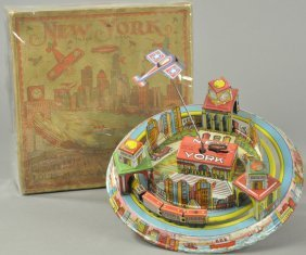 Louis Marx New York City Toy W/box