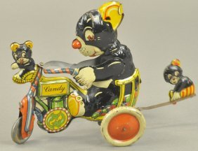 Three Bears On Candy Cycle Toy