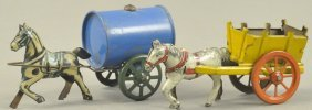 Lot Of 2 Animal Cart Penny Toys