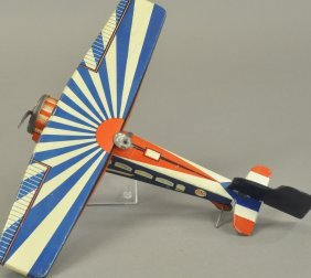 Memo French Clockwork Airplane