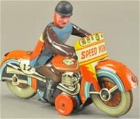 SPEED KING' CYCLE w/RIDER